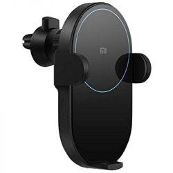 Xiaomi Mi 20W Wireless Car Charger Autós Gyorstöltő (WCJ02ZM) Fekete