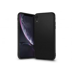 Apple iPhone XR hátlap - Liquid Air - fekete