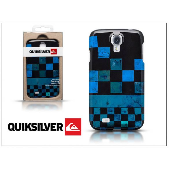 Samsung i9500 Galaxy S4 hátlap képernyővédő fóliával - Quiksilver Graphic - black/blue
