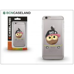 Apple iPhone 7 Plus/iPhone 8 Plus szilikon hátlap - BCN Caseland Skater Owl - transparent