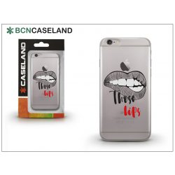 Apple iPhone 7 Plus/iPhone 8 Plus szilikon hátlap - BCN Caseland Those Lips - transprarent