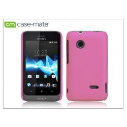 Sony Xperia Go (ST27i) hátlap - Case-Mate Smooth - pink