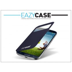 Samsung i9500 Galaxy S4 S View Cover flipes hátlap on/off funkcióval - EF-CI950BEGWW utángyártott - dark blue