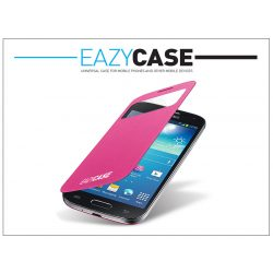 Samsung i9190 Galaxy S4 Mini View Cover flipes hátlap on/off funkcióval - EF-CI919BPEGSTD utángyártott - pink