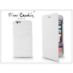 Apple iPhone 6 Plus flipes slim tok - Pierre Cardin DeLuxe Slim Folio - white