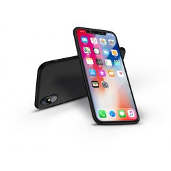 Apple iPhone X hátlap - GKK 360 Full Protection 3in1 - fekete