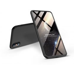 Apple iPhone XS Max hátlap - GKK 360 Full Protection 3in1 - fekete