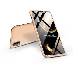 Apple iPhone X/XS hátlap - GKK 360 Full Protection 3in1 - arany