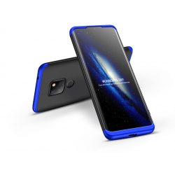 Huawei Mate 20 hátlap - GKK 360 Full Protection 3in1 - fekete/kék