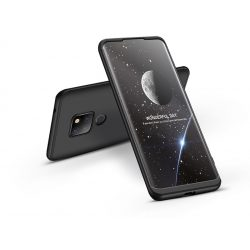 Huawei Mate 20 hátlap - GKK 360 Full Protection 3in1 - fekete