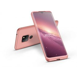 Huawei Mate 20 hátlap - GKK 360 Full Protection 3in1 - rose gold