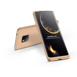 Huawei Mate 20 Pro hátlap - GKK 360 Full Protection 3in1 - arany