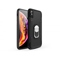 Apple iPhone X/XS hátlap - GKK Armor Full Protection - fekete