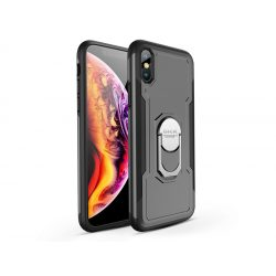 Apple iPhone XS Max hátlap - GKK Armor Full Protection - fekete/szürke