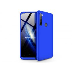 Xiaomi Redmi Note 8 hátlap - GKK 360 Full Protection 3in1 - kék