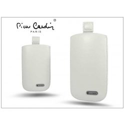 Pierre Cardin Slim univerzális tok - Samsung SM-G130 Galaxy Young 2/SM-G110 Galaxy Pocket 2/LG E430 Optimus L3 II - White - 4. méret