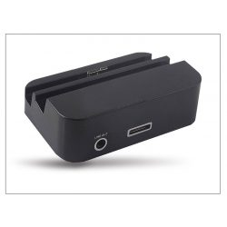Samsung N9000 Galaxy Note 3 asztali töltő + audió be/kimenet - fekete