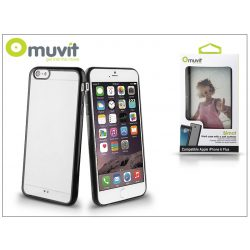 Apple iPhone 6 Plus/6S Plus hátlap - Muvit Bimat - black/transparent