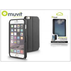Apple iPhone 6 Plus flipes tok - Muvit Window Folio - black
