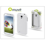 Samsung i9500 Galaxy S4 hátlap - Muvit miniGel - white