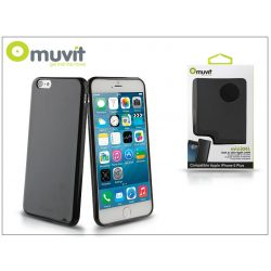 Apple iPhone 6 Plus/6S Plus hátlap - Muvit miniGel - black