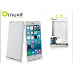 Apple iPhone 6 Plus/6S Plus hátlap - Muvit miniGel - white