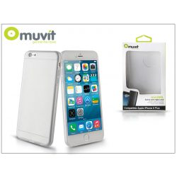 Apple iPhone 6 Plus/6S Plus hátlap - Muvit miniGel - transparent