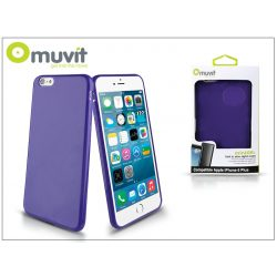 Apple iPhone 6 Plus/6S Plus hátlap - Muvit miniGel - lila