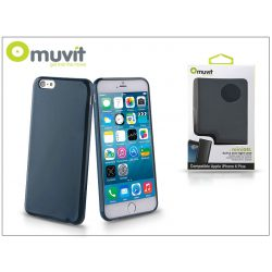Apple iPhone 6 Plus/6S Plus hátlap - Muvit miniGel - blue