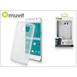 Samsung SM-G920 Galaxy S6 hátlap - Muvit ThinGel - transparent