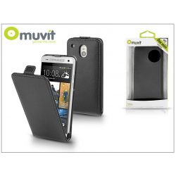 HTC One Mini flipes tok - Muvit Slim - black