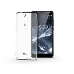 Nokia 5.1 szilikon hátlap - Roar All Day Full 360 - transparent