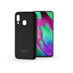 Samsung A405F Galaxy A40 szilikon hátlap - Roar All Day Full 360 - fekete