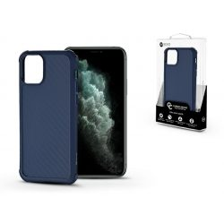 Apple iPhone 11 Pro szilikon hátlap - Roar Carbon Armor Ultra-Light Soft Case - kék