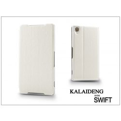 Sony Xperia Z2 (D6503) flipes tok - Kalaideng Swift Series - white
