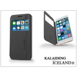 Apple iPhone 6 Plus flipes tok - Kalaideng Iceland 2 Series View Cover - black