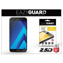 Samsung A720F Galaxy A7 (2017) gyémántüveg képernyővédő fólia - Diamond Glass 2.5D Fullcover - fekete