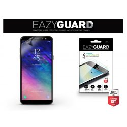 Samsung A605 Galaxy A6 Plus (2018) képernyővédő fólia - 2 db/csomag (Crystal/Antireflex HD)