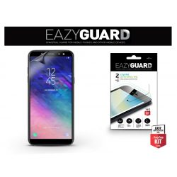 Samsung A600F Galaxy A6 (2018) képernyővédő fólia - 2 db/csomag (Crystal/Antireflex HD)