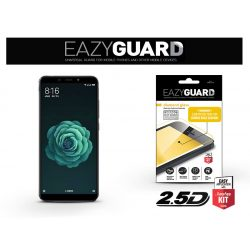 Xiaomi Mi A2 gyémántüveg képernyővédő fólia - Diamond Glass 2.5D Fullcover - fekete