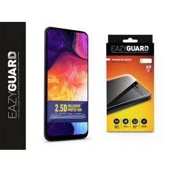 Samsung A305F Galaxy A30/A30s/A20/A50/M30 gyémántüveg képernyővédő fólia - Diamond Glass 2.5D Fullcover - fekete