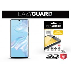 Huawei P30 Pro gyémántüveg képernyővédő fólia - Diamond Glass 3D Fullcover - fekete