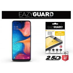 Samsung A202F Galaxy A20e gyémántüveg képernyővédő fólia - Diamond Glass 2.5D Fullcover - fekete