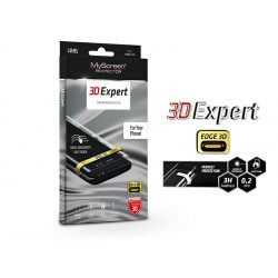 Samsung A705F Galaxy A70 hajlított képernyővédő fólia - MyScreen Protector 3D Expert Full Screen 0.2 mm - transparent