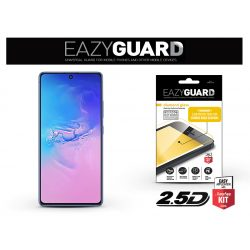 Samsung G770F Galaxy S10 Lite gyémántüveg képernyővédő fólia - Diamond Glass 2.5D Fullcover - fekete