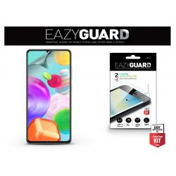 Samsung A415F Galaxy A41 képernyővédő fólia - 2 db/csomag (Crystal/Antireflex HD)