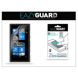 Nokia Lumia 800 képernyővédő fólia - 2 db/csomag (Crystal/Antireflex)