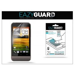 HTC One V képernyővédő fólia - 2 db/csomag (Crystal/Antireflex)