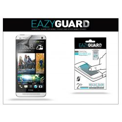 HTC One Max képernyővédő fólia - 2 db/csomag (Crystal/Antireflex)