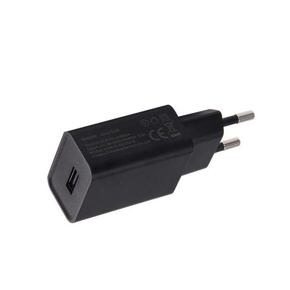Xiaomi EU Hálózati USB töltő 2A Fekete